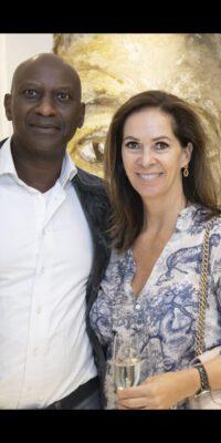 Annemarie van Gaal en Rhandy Macnack