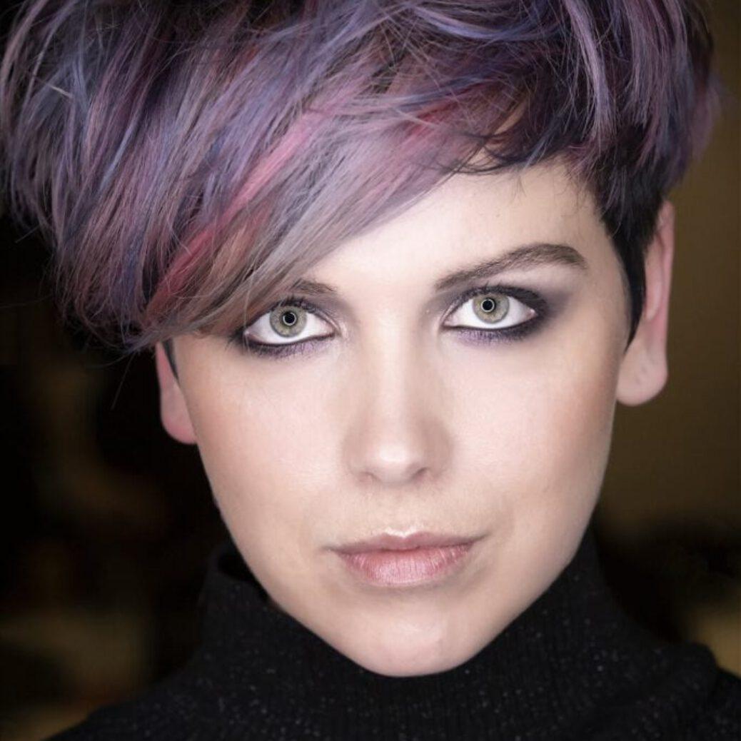 Model van Huub Eysink, creative director van Hair Plaza